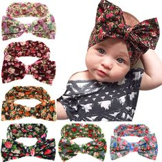 Cheap girls bow headband, Buy Quality bow headband baby directly from China baby turban Suppliers: 2017 New arrival Girls Bow Headbands baby Turban Knot Rabbit Hairbandkids children Cloth Knotted Headwear Baby Boy Winter Hats, Baby Girl Hats, Baby Sun Hat, Baby Girls, Big Baby, Infant Girls, Infant Toddler, Kids Girls, Toddler Bows