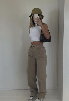 Indie Outfits, Teen Fashion Outfits, Retro Outfits, Cute Casual Outfits, Look Fashion, Stylish Outfits, Vintage Outfits, Looks Pinterest, Mode Inspiration