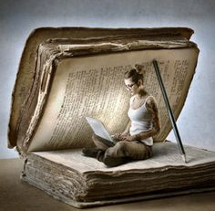 Arte do saber I Love Books, Books To Read, Reading Art, Reading Books, World Of Books, Altered Books, Belle Photo, Creative Photography, Book Lovers