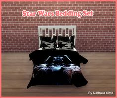 Sims 4 CC's - The Best: Star Wars Bedding Set by Nathaliasims