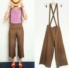 """Mi piace"": 123, commenti: 3 - Gira e Rigira la Moda (@giraerigira) su Instagram: ""Thrilled to ship this outfit to JAPAN ⛩!! Silk striped blouse(2 sizes available) & suspenders…"""