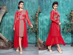 Fabulous #Designer #Latest #Stitched #Kurti Kurtas and Kurtis For Women on Shimply.com
