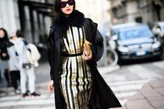 On the Streets of Milan Fashion Week Fall 2015 - Milan Fashion Week Fall 2015 Street Style Day 1-Wmag