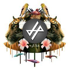 #collage #logo #animals #flowers #art #arte