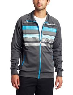 Puma Golf Men's Golf Track Jacket