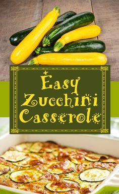 Easy Zucchini Casserole – Cheesy, Low Carb, Keto and Delicious This Zucchini casserole is easy, cheezy and delicious! Only a handful of ingredients and a super way to use that zucchini bounty from the garden. Vegetable Side Dishes, Vegetable Recipes, Keto Recipes, Healthy Recipes, Easy Zucchini Recipes, Cheesy Zucchini Bake, Zuchinni And Squash Recipes, Zuchinni Bake, Chicken Zucchini Casserole