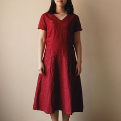 [エンベロープオンラインショップ] 【予約販売】 ENYO Vネックのワンピース CLOTHING ワンピース