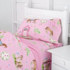 Sheets for Hadley's cowgirl room.