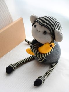 sock monkey                                                                                                                                                                                 More