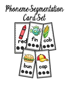 This set is designed to build phonological awareness skills.