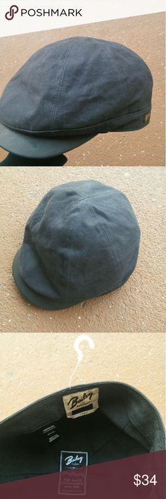 Bailey Of Hollywood Newsboy Cap New without tags Bailey newsboy cap hat size medium. Leather trim. Bailey Of Hollywood Accessories Hats