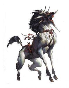 Kirin Dragão cavalo