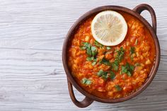 This is the perfect winter's day soup, it is super warming and delicious. Lentils are a great source of fibre which is awesome for your digestive health, and they are also a wonderful source of protei