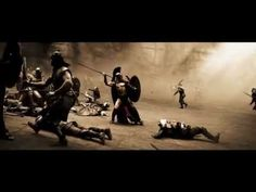 300 spartans best fight scene