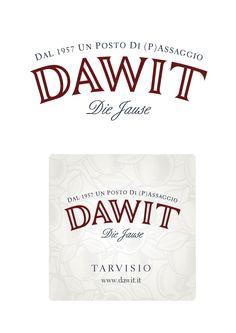 Progettazione del #logo per #Dawit di #Tarvisio www.altrementi.it