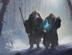 Dwarf casters ?! I like the idea of dwarf wizards/sorcerers, or at least invokers/clerics.