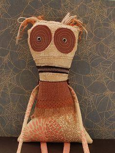 Plush Monster, Creepy Rag Doll - Charlotte
