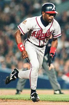 Marquis Grissom  Great player, but I will always remember his dropped fly ball in Game 5 of 1996 World Series against Yankees that gave New York 1 unearned run.  We lost the game 1-0 and the Series.
