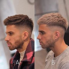 Men Haircut Curly Hair, Male Haircuts Curly, Mens Hairstyles With Beard, Quiff Hairstyles, Cool Hairstyles For Men, Fade Haircut, Haircuts For Men, Cool Haircuts, Latest Hairstyles