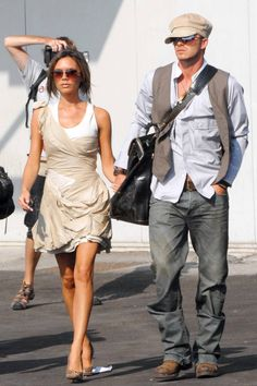 Happy 15th Anniversary to the Beckhams! See their most stylish looks here.