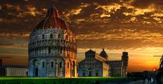The Piazza dei Miracoli or Field of Miracles is to the north of central #Pisa. It's an UNESCO World Heritage site and contains the city's most famous #sights. #travel #italy