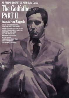 Tony Stella's poster for Francis Ford Coppola's The Godfather Part II (1974)