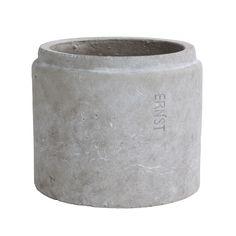 Kruka Ø24cm H20cm, Ljusgrå 298 kr. - RoyalDesign.se