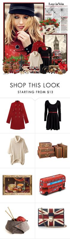 """""""London calling..."""" by lady-rinz ❤ liked on Polyvore featuring Louis Vuitton, Bianchi Arte, Aspinal of London and Salvatore Ferragamo"""