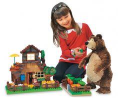 PlayBIG Bloxx Masha and the Bear - Bear's House