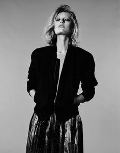 Photographer: Peter Yip Stylist: Otto Volquardsen Makeup Artist: Naomi Dakuzaku Hairstylist: Mikio Aizawa Model: Lucinda @ MiLK © Peter Yip Photography