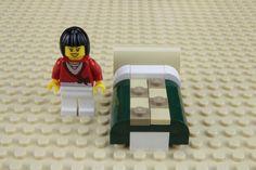 Fabrique un lit pour tes minifigures LEGO®
