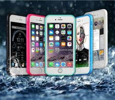 hybrid waterproof phone case for iphone7 iphone 7 6 6s plus s7 TPU PC touch screen defender case outdoor sport protector case