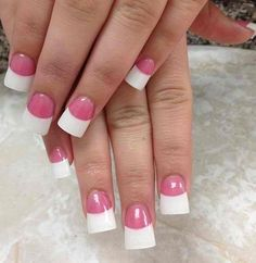 French flared nails...idk why I love these so much.