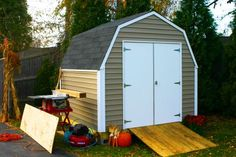 The Val-U Shed is the industry's most popular storage shed.