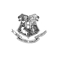 Hogwarts-crest-book.gif ❤ liked on Polyvore featuring harry potter, fillers, hogwarts, backgrounds, drawings, doodle, quotes, text, phrase and saying