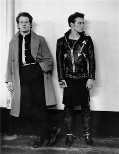 Adam Ant and Marco Pirroni, London, England, 1980