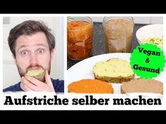 VEGANE BROTAUFSTRICHE ZUM SELBER MACHEN - YouTube