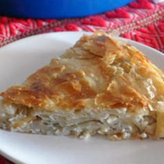 Croatian Cheese Burek - - Explore traditional festive recipes which represent the heart & soul of the specific culture or religion with links where to buy recipe ingredients. Cheese Burek Recipe, Cheese Recipes, Cooking Recipes, Albanian Recipes, Bosnian Recipes, Hungarian Recipes, Strudel, Croation Recipes, Croatia