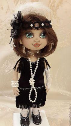 Текстильная коллекционная кукла в ретро стиле. Автор Лисицина Надежда Princess Zelda, Disney Princess, Disney Characters, Fictional Characters, Dolls, Baby Dolls, Puppet, Doll, Fantasy Characters