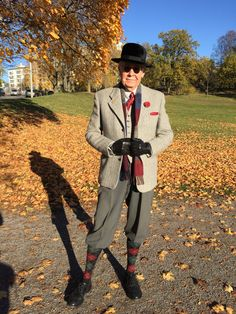 Plus fours from Algots and tweed from the 50s