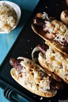 Reuben Hot Dogs | Girl Carnivore/Pass the Sushi