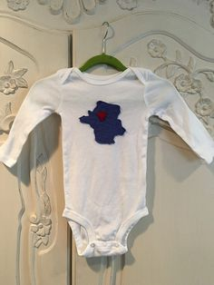 France Onesie Paris love baby gift by sewhappyone on Etsy
