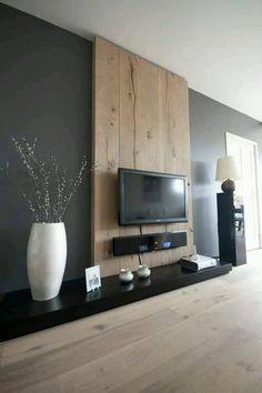 Ideas para decorar el area de tv