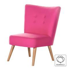 Sessel Mikkel - Baumwollstoff Pink 219,--