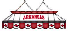Arkansas Razorbacks MVP Pool Table Light