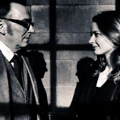 God...there both so amazing...my two favorite actors #PersonOfInterest #AmyAcker #MichaelEmerson