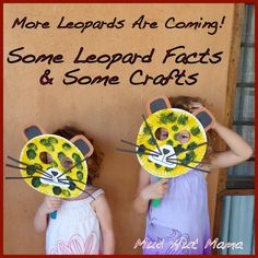 Leopard Crafts and Facts - Mud Hut Mama - Blog says I'm a stay-at-home mom who lives in the middle of a game reserve in Malawi, Africa.  I have an incredible husband, who works in wildlife conservation, and two hilarious daughters that I often refer to as my littles.