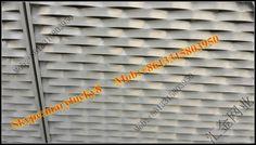 L framed profile aluminum mesh for building facade,expanded alu mesh external facade