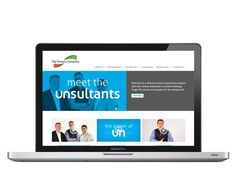 Check out the new #website and #branding we created for the unsultants at http://thepowerscompany.com/