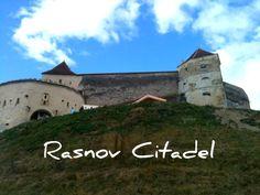 Rasnov castle.